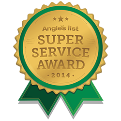 Angies List 2014 award winner